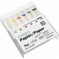 Pointes de Papier Top Color - Roeko