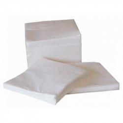 Serviettes Blanches 30x30 2plis /3200