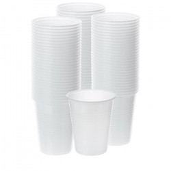 Gobelets Plastique Blanc  /3000