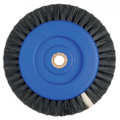 Brosse circulaire en soie