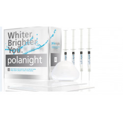 polanight kit de 10 seringues pour blanchiment dentaire