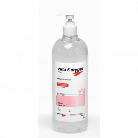 Gel désinfectant ZETA 6 DRYGEL