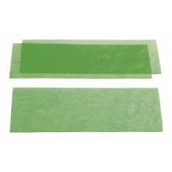 CIRE EN PLAQUE calibrée verte - Plaques veiné gros