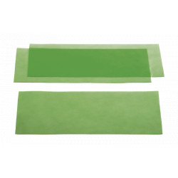CIRE EN PLAQUE calibrée verte - Plaques veiné fin