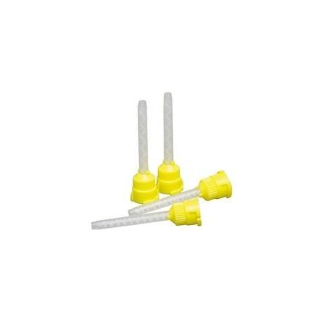 Embouts mélangeurs jaune