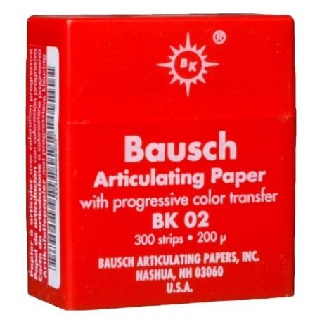 Papier à Articuler BK02 200µ Rouge