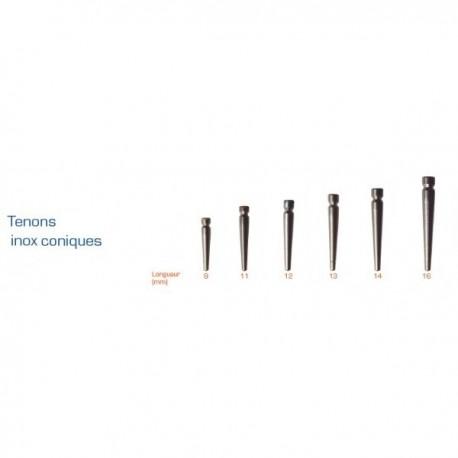 Tenons Dentoclic Inox Coniques - Itena