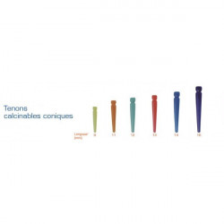 Tenons Dentoclic Calcinables Coniques - Itena